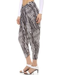 Willow - Draped Pants - Lyst