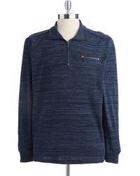 Calvin Klein Blue Pullover Sweater - Lyst