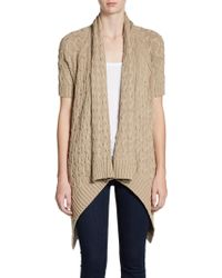 Cotton by Autumn Cashmere | Shortsleeve Hilo Cardigan | Lyst