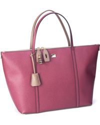 Dolce & Gabbana Miss Escape Leather Tote - Lyst