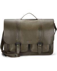 Ben Minkoff - Bridle Leather Messenger Bag - Lyst