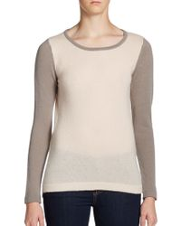 Christopher Fischer Cashmere Contrast Sweater - Lyst