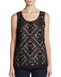 Sachin & Babi Isabel Embroidered Top - Lyst