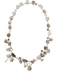 Sharon Khazzam - Diamond Cascading Necklace - Lyst