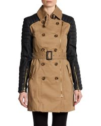 W118 by Walter Baker Keanu Belted Trench Coat - Lyst