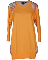Just Cavalli Short Sleeve Jumper - Lyst