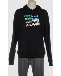 Billabong Hooded Sweatshirt black - Lyst