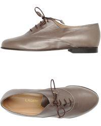 Laure Bassal Lace-Up Shoes - Lyst