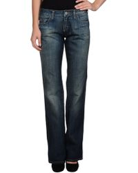 Miss Sixty Denim Trousers - Lyst