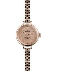 Shinola The Birdy Rose Golden Watch 34mm - Lyst