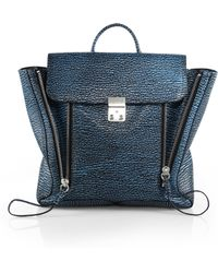 3.1 Phillip Lim Pashli Stamped Leather Backpack - Lyst