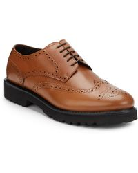 Bruno Magli Majro Leather Wingtip Brogues - Lyst
