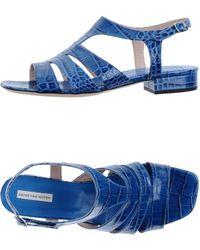 Dries Van Noten Highheeled Sandals - Lyst