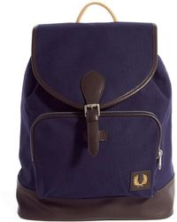 Fred Perry Classic Canvas Backpack - Lyst