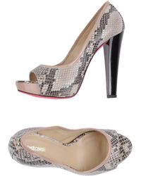 Just Cavalli Pumps with Open Toe - Lyst
