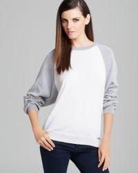MICHAEL Michael Kors Raglan Sweater - Lyst
