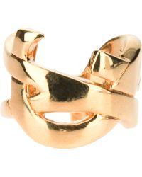 Saint Laurent Monogramme Ring - Lyst