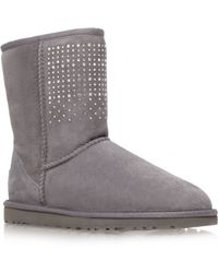 Ugg Classic Short Ankle Boots - Lyst