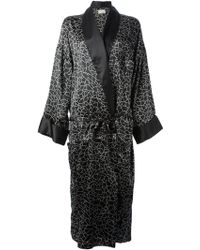 Valentino Vintage Crack Print Robe - Lyst