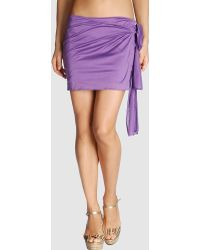 Eres Purple Sarong - Lyst