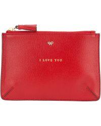 Anya Hindmarch Loose Pocket Wallet - Lyst