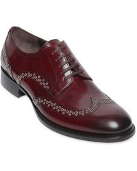 DSquared² Derby Style Leather Brogue Shoes - Lyst