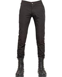 Gareth Pugh - Cotton Drill Trousers - Lyst