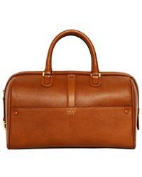 Giorgio Armani - Weekend Leather Top Handle Bag - Lyst eccb96f788