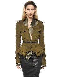 Haider Ackermann Nappa Leather Pencil Skirt - Lyst
