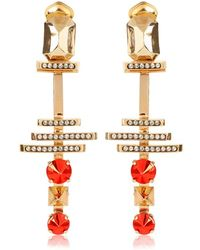 Iosselliani - Deco Clip Earrings - Lyst
