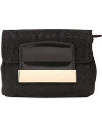 Jimmy Choo Caro Lame' Glitter Fabric Shoulder Bag - Lyst