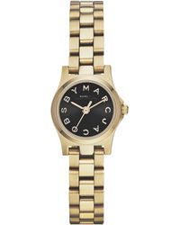 Marc By Marc Jacobs Henry Dinky Analog Watch Light Golden - Lyst