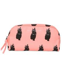 Marc By Marc Jacobs - Printed Canvas Make-Up Bag - Lyst