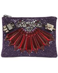 Mawi - Glitter with Crystal Pouch - Lyst