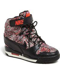 Nike Air Revolution Sky Hi Liberty Wedge Sneaker - Lyst