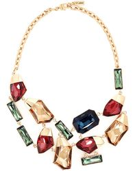 St. John - Faceted Swarovski Crystal Necklace - Lyst