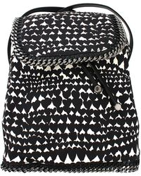 Stella McCartney Print Cotton Rucksack - Lyst