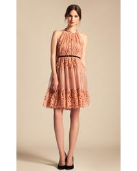 Temperley London Lily Graphic Short Dress - Lyst