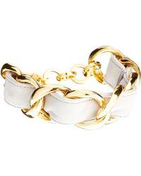Tokyo Jane - Naomi Linked Leather Bracelet - Lyst