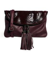 Urbancode - Urbancode Berry Clutch Bag - Lyst