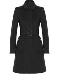 Burberry London Wool and Cashmere-blend Coat - Lyst