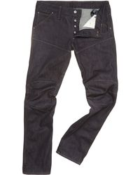 G-star Raw Low Tapered Leg Jeans - Lyst