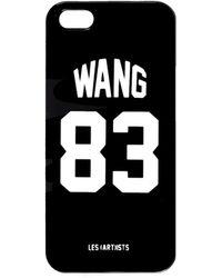 LES (ART)ISTS - Wang 83 Iphone 5 Case Black - Lyst