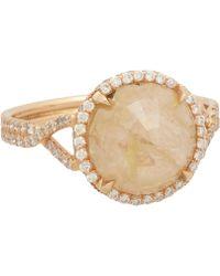 Monique Pean Atelier - Peach Diamond Engagement Ring - Lyst
