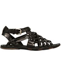 Officine Creative Caged Leather Sandals - Lyst