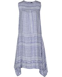 Antik Batik Blue Kneelength Dress - Lyst