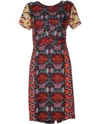 Antik Batik Multicolor Kneelength Dress - Lyst