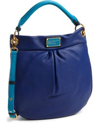 Marc By Marc Jacobs Classic Q Hillier Leather Hobo - Lyst