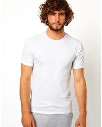 Calvin Klein 2 Pack Crew Tshirts - Lyst