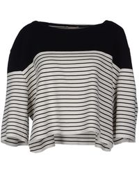 Chloé Short Sleeve Sweater - Lyst